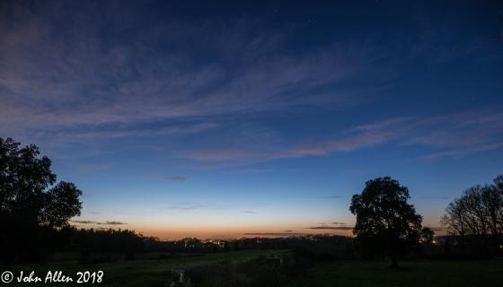 blue dusk by john allen