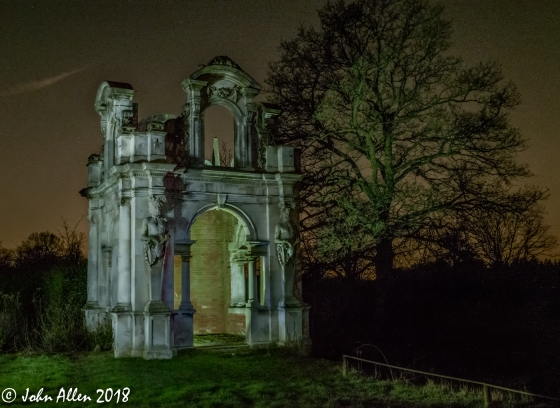 light painted folly by john allen
