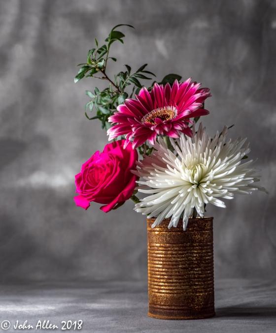 RUSTIC FLOWERS by John Allen