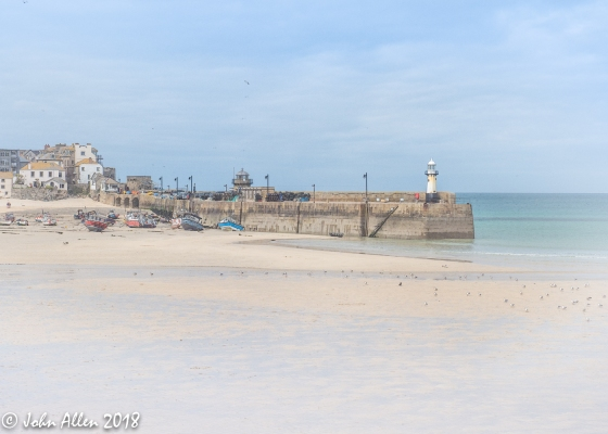 ST IVES HARBOUR by John Allen