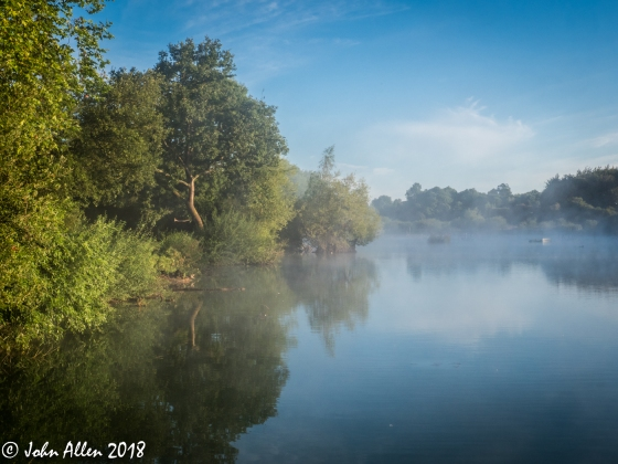 HATFIELD FOREST LAKE by John Allen