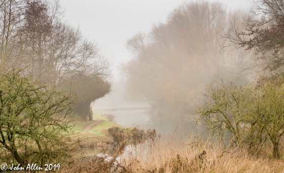 06-MISTY RIVER WALK by John Allen