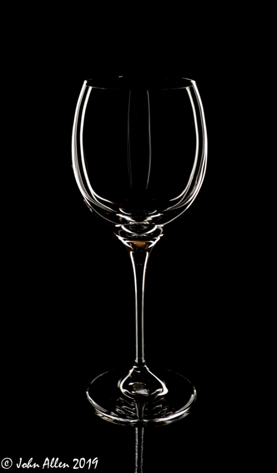 Wine Glass by John Allen